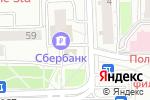 Схема проезда до компании Продовольственный магазин в Москве