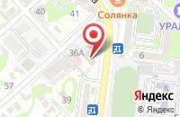Схема проезда до компании Медиа-Юг в Новороссийске