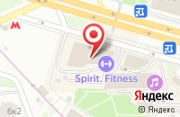 Схема проезда до компании Изографъ в Москве