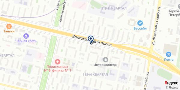 ЗОВ на карте Москве