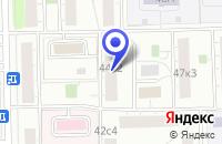Схема проезда до компании АВТОСЕРВИСНОЕ ПРЕДПРИЯТИЕ ОРЛАН в Москве