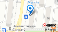Компания Позитроника на карте
