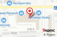 Схема проезда до компании Геральдмастер в Москве