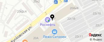Иксель-Дженерал Групп на карте Москвы