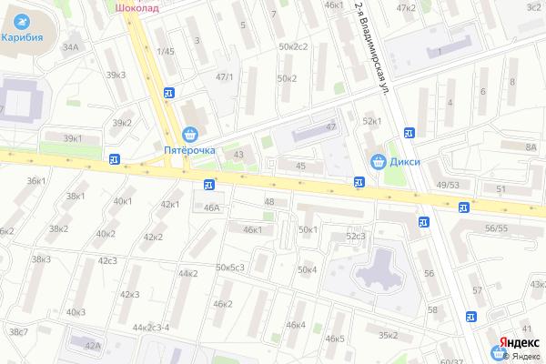 Ремонт телевизоров Улица Перовская на яндекс карте