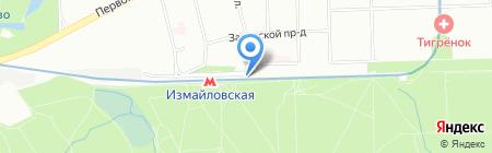 Мобил Элемент на карте Москвы