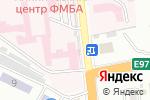 Схема проезда до компании Новороссийский клинический центр Федерального медико-биологического агентства в Новороссийске