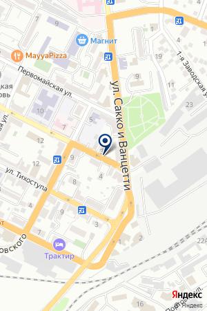 ТУРИСТИЧЕСКОЕ АГЕНТСТВО РОСТЭК-ТУР на карте Новороссийска