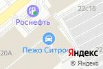 Схема проезда до компании ПроектСтройХолдинг в Москве