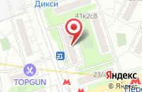 Схема проезда до компании Олимпик Строй в Москве