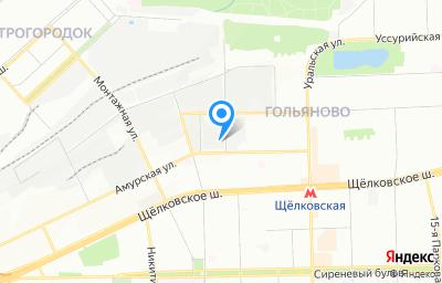 Местоположение на карте пункта техосмотра по адресу г Москва, ул Амурская, д 15/1 стр 2