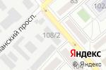Схема проезда до компании Хитон в Донецке
