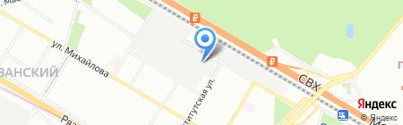 Высота на карте Москвы