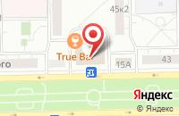 Схема проезда до компании Флауэрс в Москве