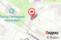 Схема проезда до компании Су-145 в Москве
