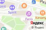 Схема проезда до компании Сити Трэвел в Москве