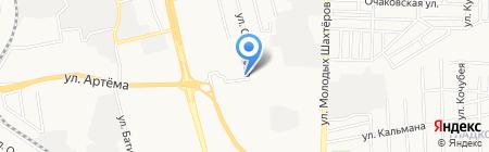Аякс-Авто на карте Донецка