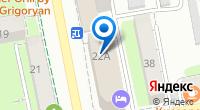 Компания Жустина на карте