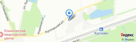 ЭнТЭкс на карте Москвы
