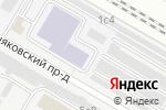 Схема проезда до компании Мосметропроект в Москве