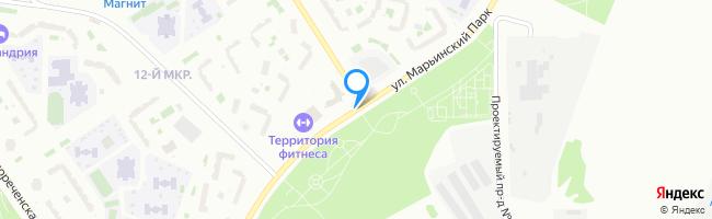 улица Марьинский Парк