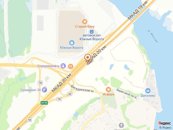 Остановка «Беседы», 20-й километр Московской Кольцевой Автодороги (7811) (Москва)