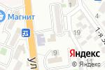 Схема проезда до компании Белый Зал в Новороссийске