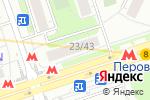 Схема проезда до компании Октава-Недвижимость в Москве