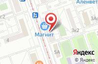 Схема проезда до компании Новости Строительства в Москве