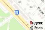 Схема проезда до компании Три квадрата в Донецке