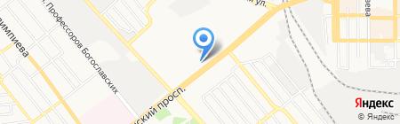 Мобилочка на карте Донецка