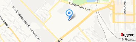 ДонНМУ на карте Донецка