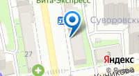 Компания Космо+ на карте
