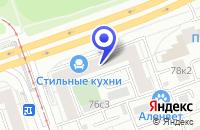 Схема проезда до компании ТФ ТЕХНОПРИБОР-С в Москве