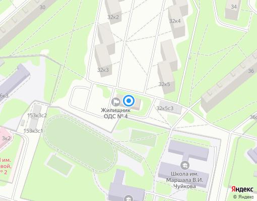 Управляющая компания «Жилищник района Кузьминки» на карте Москвы