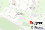 Схема проезда до компании Инженерная служба района Кузьминки в Москве
