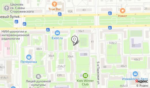 Азбука персонала. Схема проезда в Москве