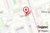 Схема проезда до компании Диол Медиа в Москве
