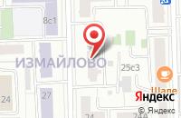 Схема проезда до компании Оптимат-М в Москве