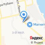 Здоровье-МЦ на карте Новороссийска