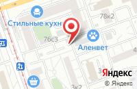 Схема проезда до компании Даль Транзит в Москве