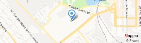 Участковый пункт милиции №2 на карте Донецка