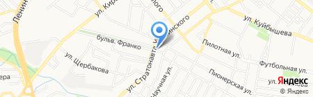 Люкс на карте Донецка