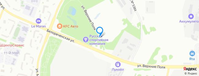 улица Верхние Поля