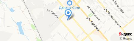 ИсточникСтрой на карте Донецка