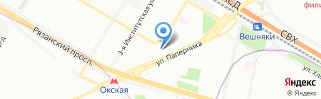 Palacio на карте Москвы