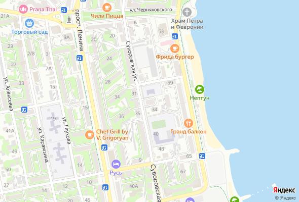 продажа квартир по ул. Суворовская 34А