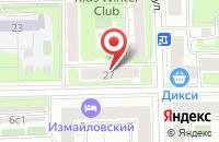 Схема проезда до компании Сваринвест в Москве