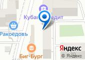 Сервис систем безопасности на карте