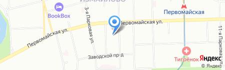 Запад и Партнёры на карте Москвы